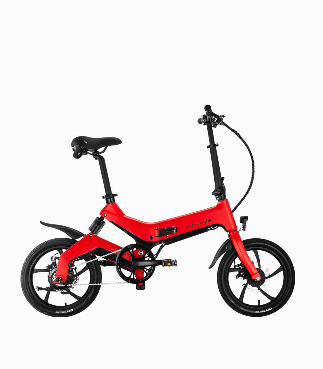 NAKXUS NF1 (RED8.7AH) LTA approved ebike right
