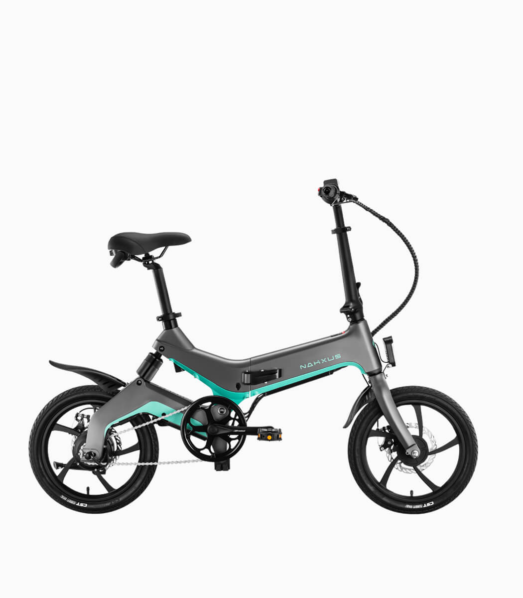 NAKXUS NF1 (SILVER-BLUE8.7AH) LTA approved ebike right